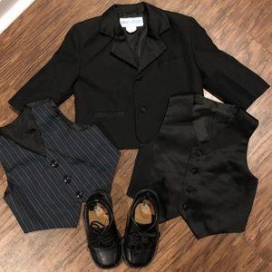 Other - ⭐️Toddler Boys tuxedo & vest(s)⭐️